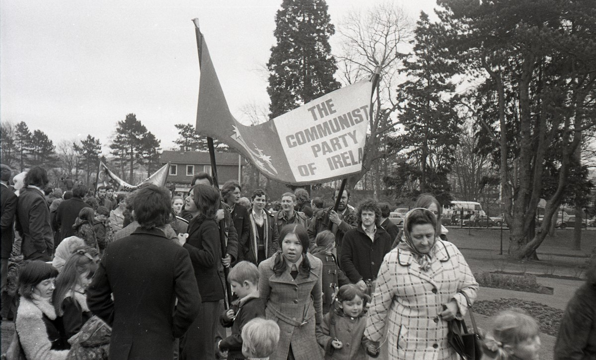 McKee  //  County Down :: Anti-internment protest in the north of Ireland 1970s