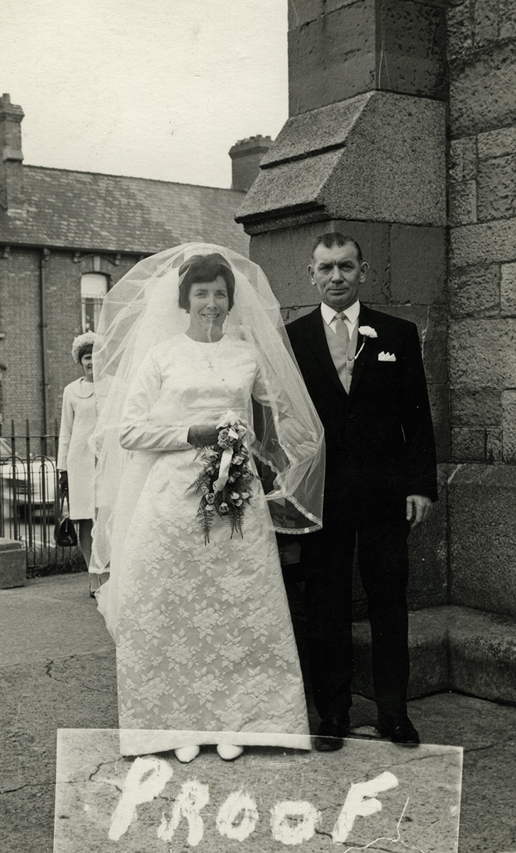 Masterson  //  County Dublin :: Terry Masterson at her wedding