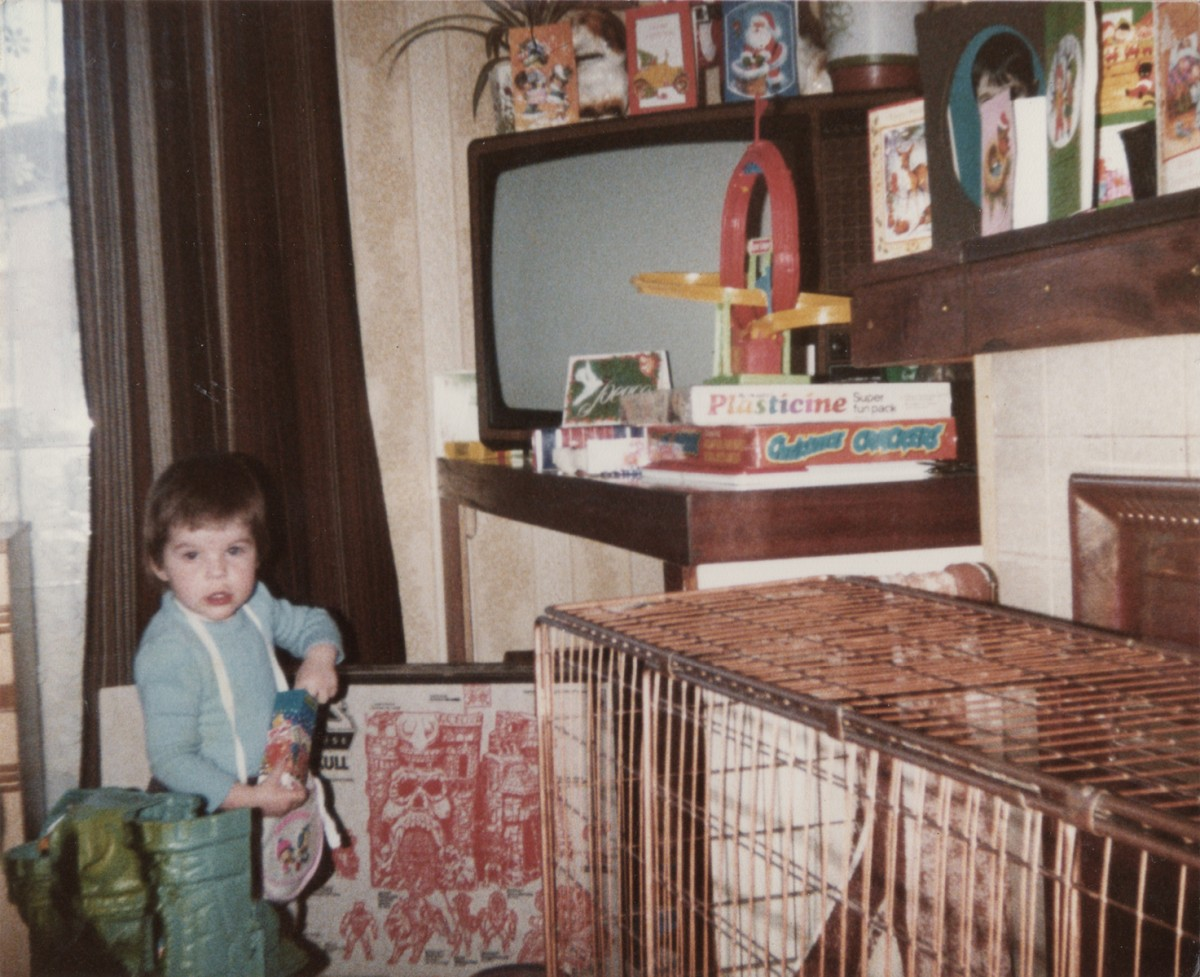 Crowne // County Tyrone :: Child at home, Christmas 1984