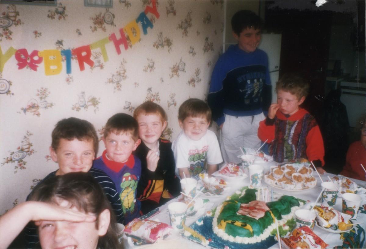 Crowne // County Tyrone :: Children's Birthday Party, 1991