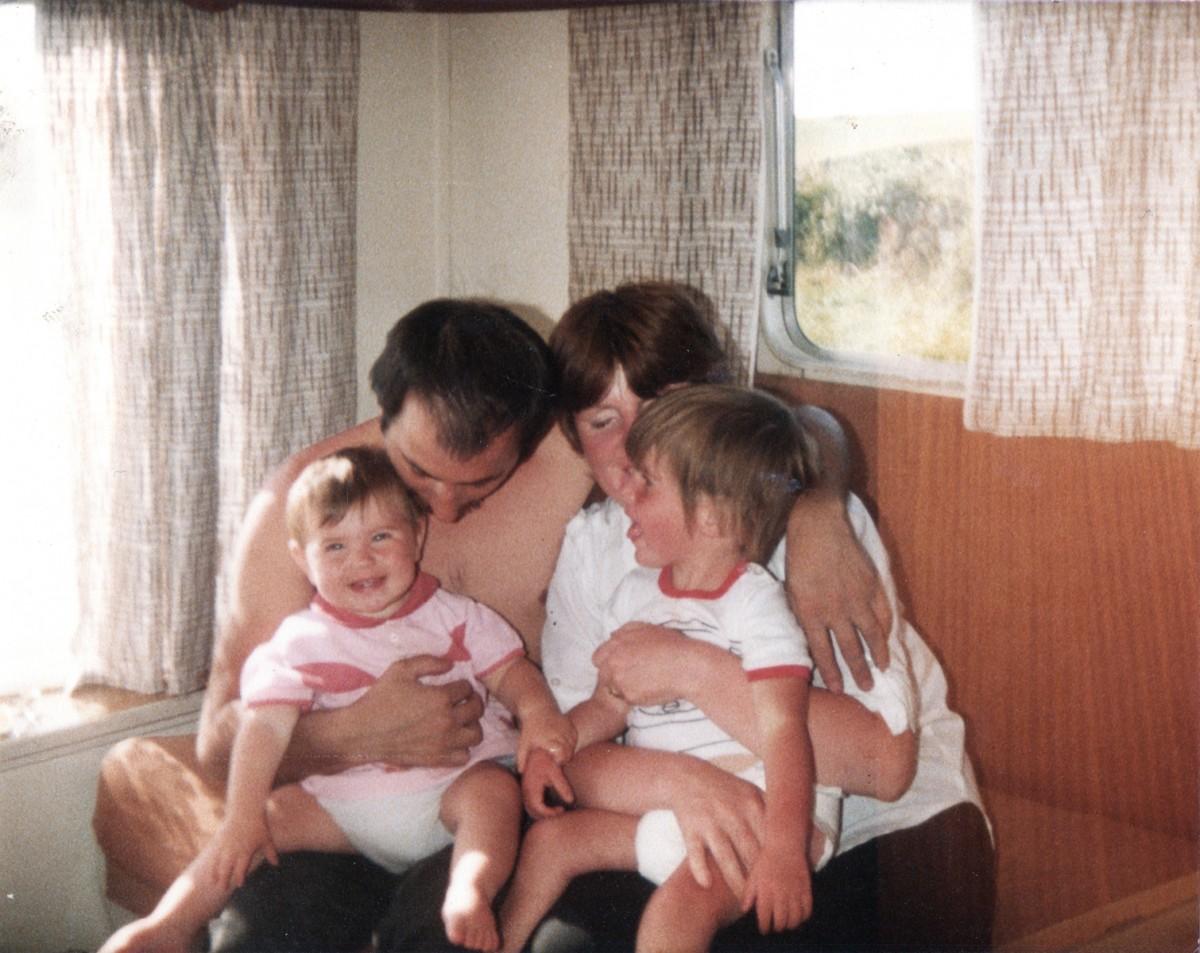 Crowne // County Tyrone :: Family holiday in Bundoran, Summer 1984