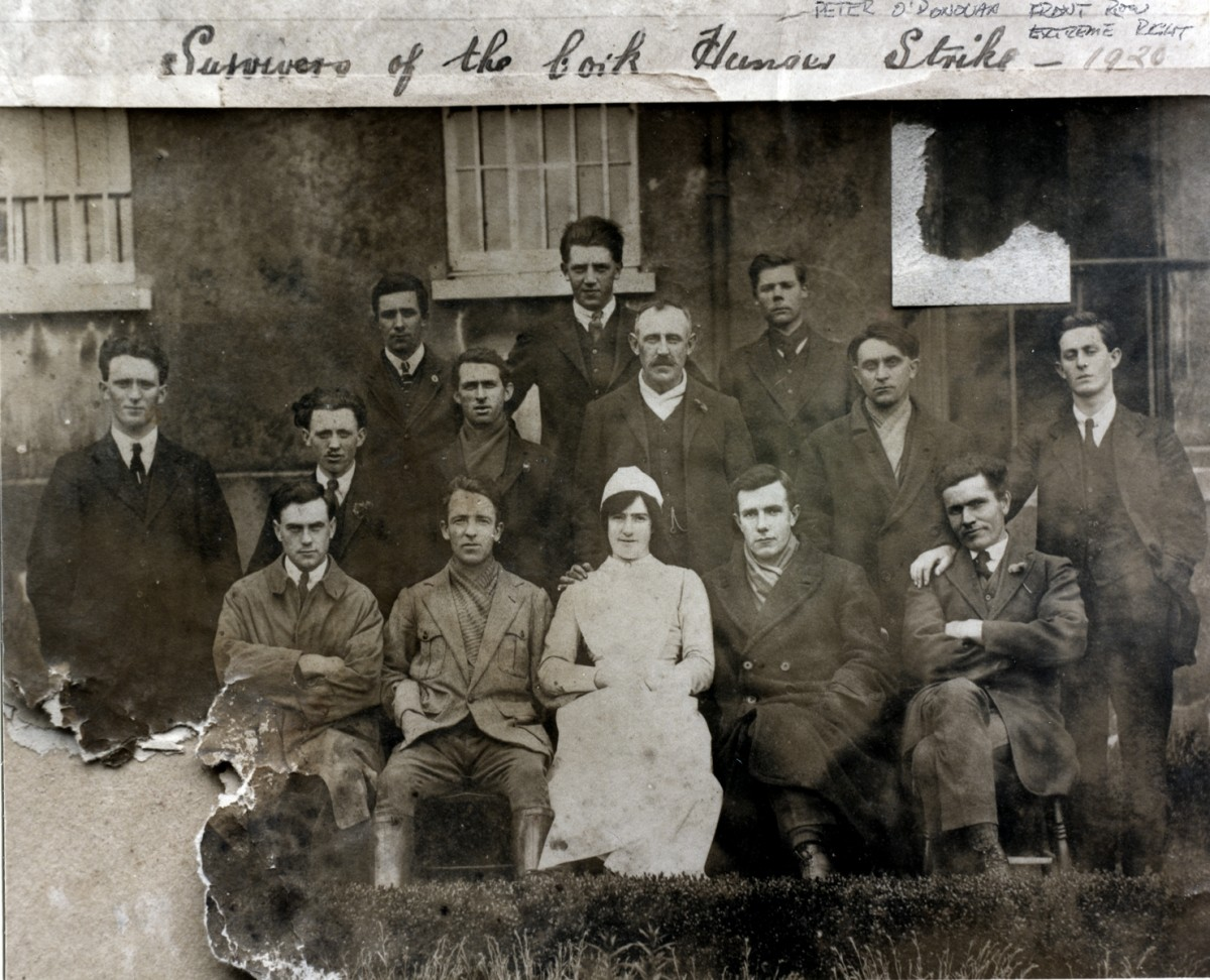O'Donovan // County Cork :: Group photo of hunger-strikers