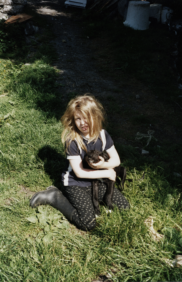 Wallis // County Clare :: Lilith Stapleton in County Clare, 1994