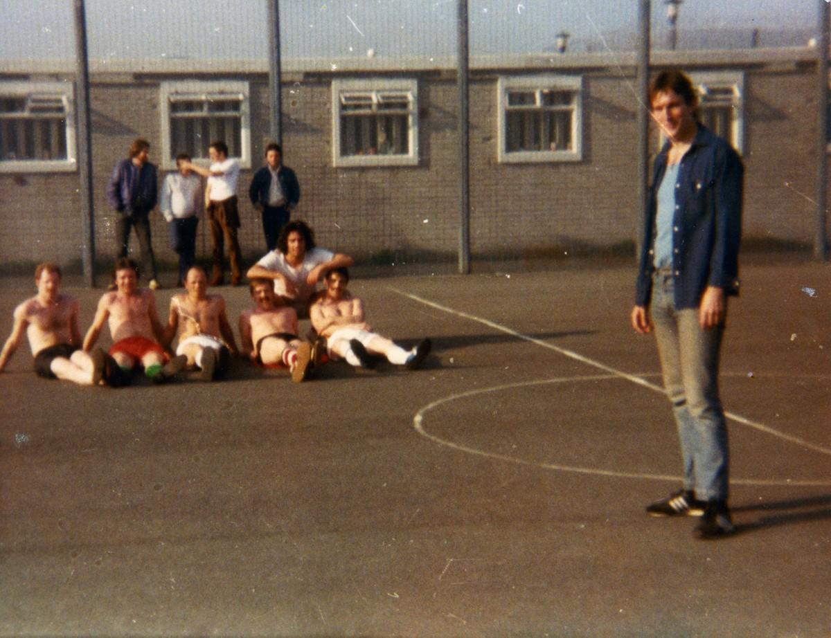 McKeown // County Antrim :: Republican prisoners in Maze prison H-Block exercise yard