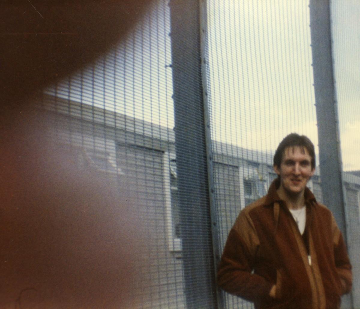 McKeown // County Antrim :: Laurence McKeown in H-Block exercise yard