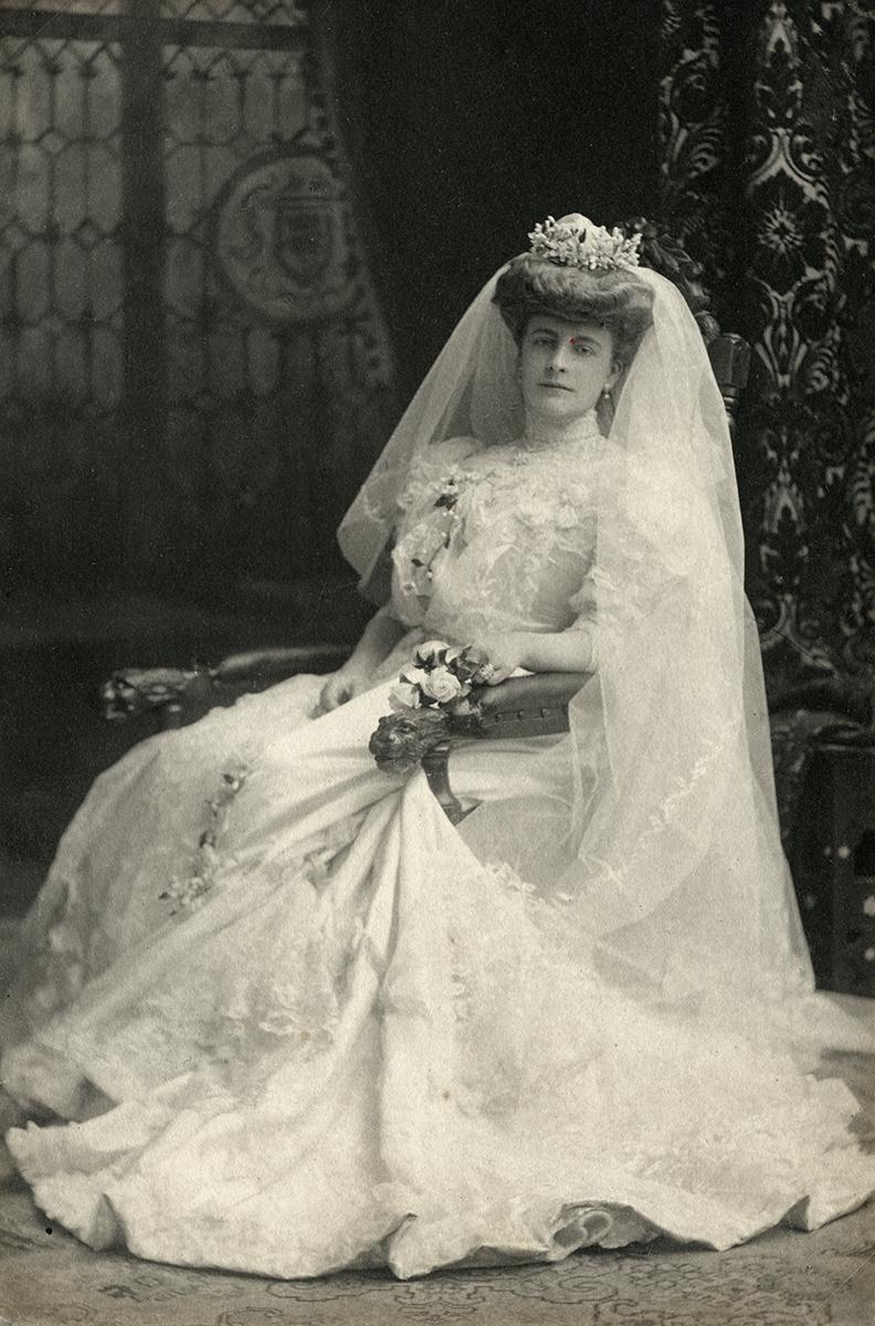 Baker Deely // Dublin :: Florence Meerwald's wedding photo in 1876