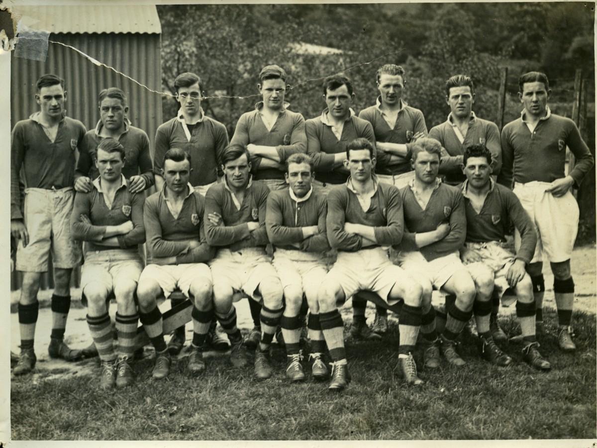 O'Driscoll // County Dublin :: Sundays Well RFC (Rugby Football Club), 1928