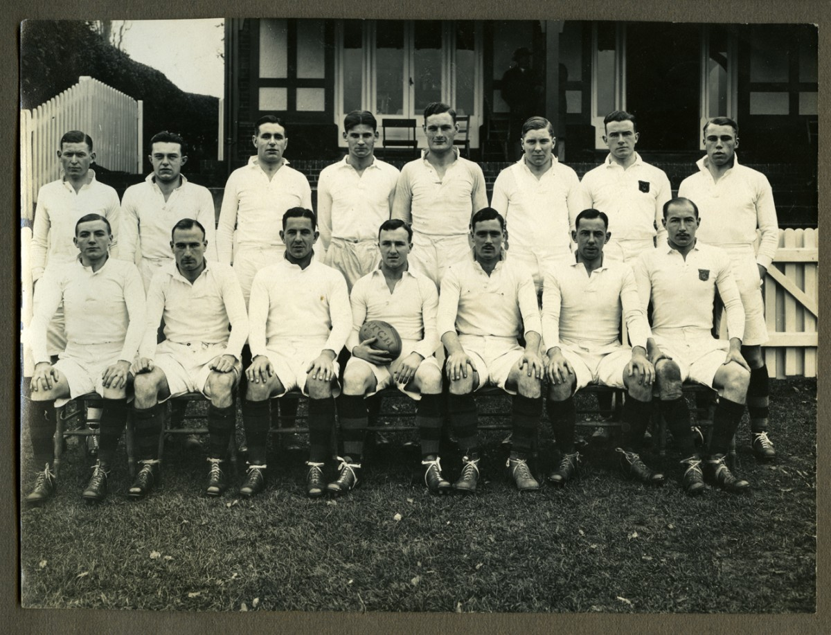 O'Driscoll // County Dublin :: Trinity College Rugby Team, 1933
