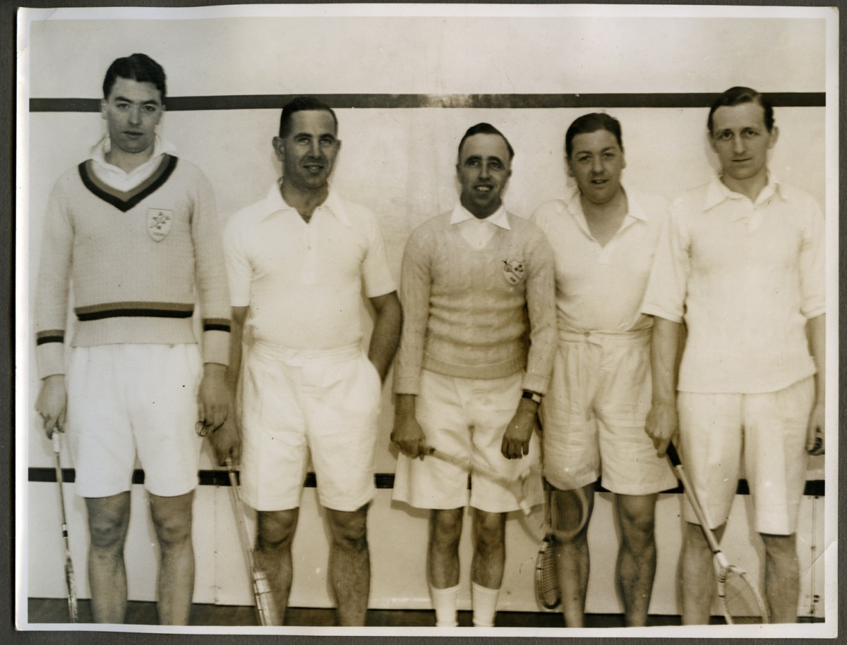 O'Driscoll // County Dublin :: Irish National Squash Team, 1939