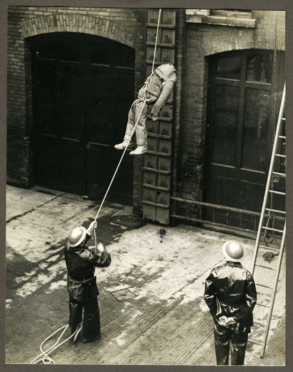 O'Driscoll // County Dublin :: Auxiliary Fire Service display, 1940