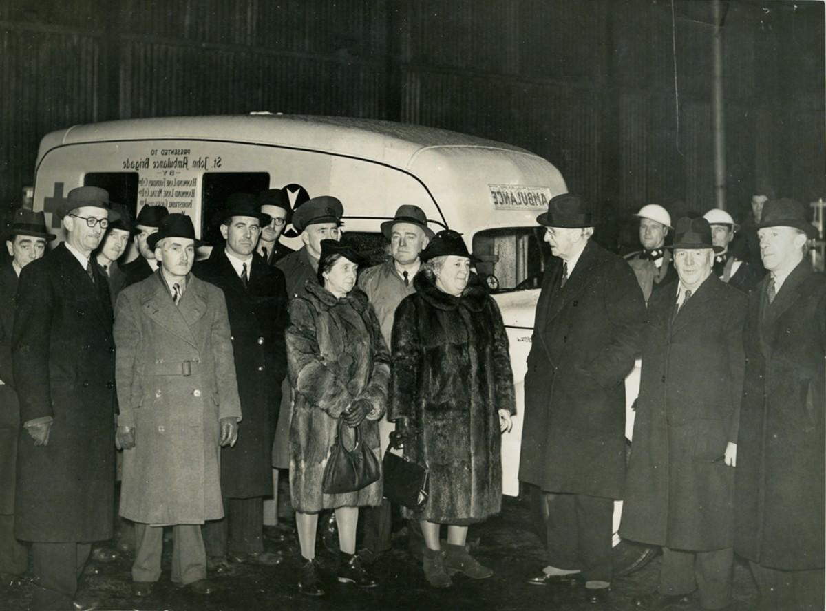 O'Driscoll // County Dublin :: The Taoiseach visits the St. John Ambulance service