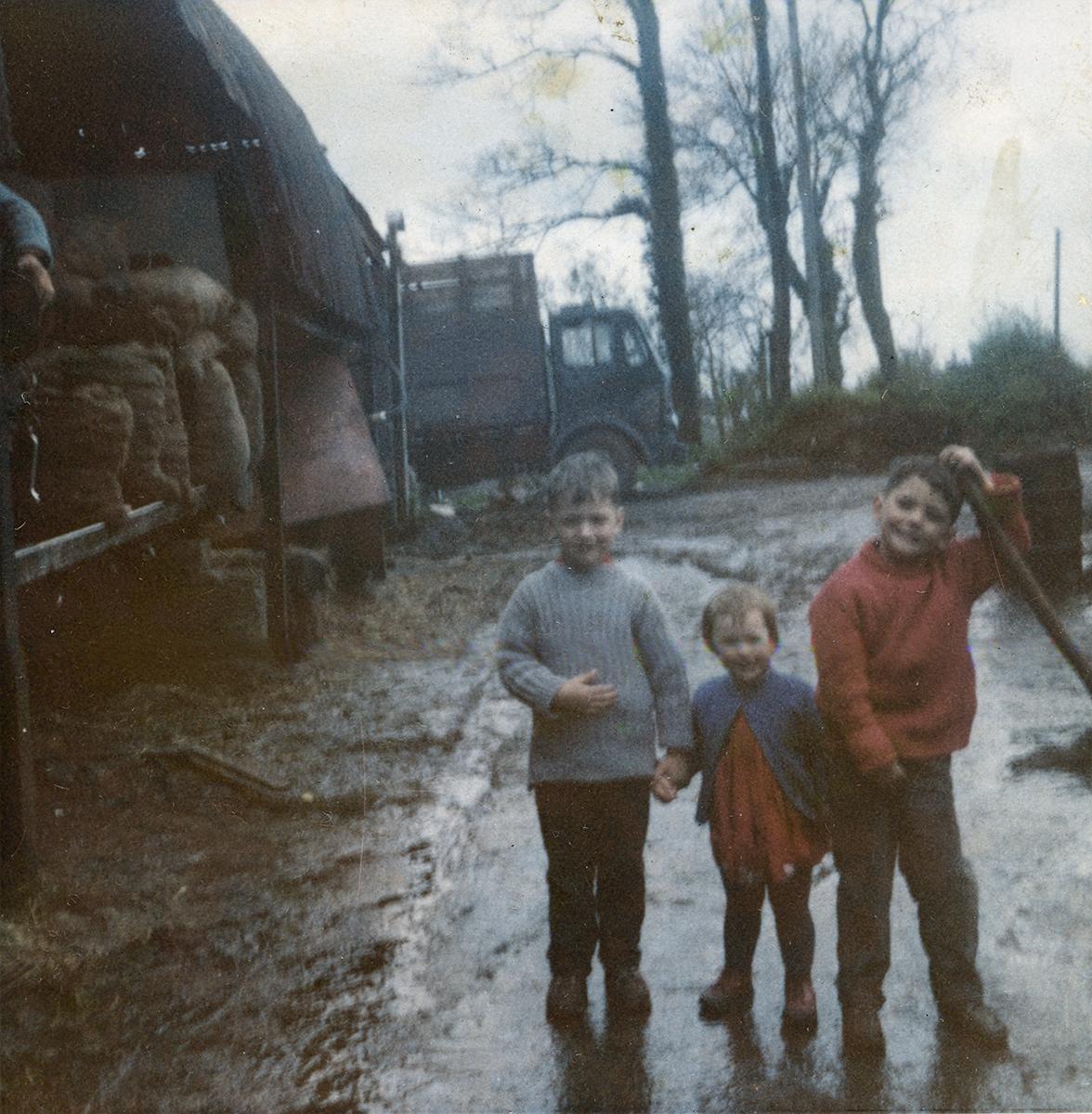 Conlon // Philadelphia & County Monaghan :: Conlon Family Farmyard, Tullysarron, County Armagh, 1965