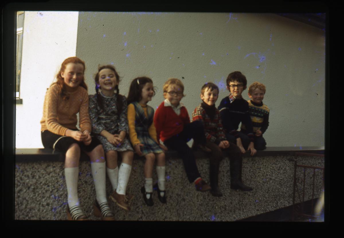Eugene Clerkin Archive :: Clerkin children and friends