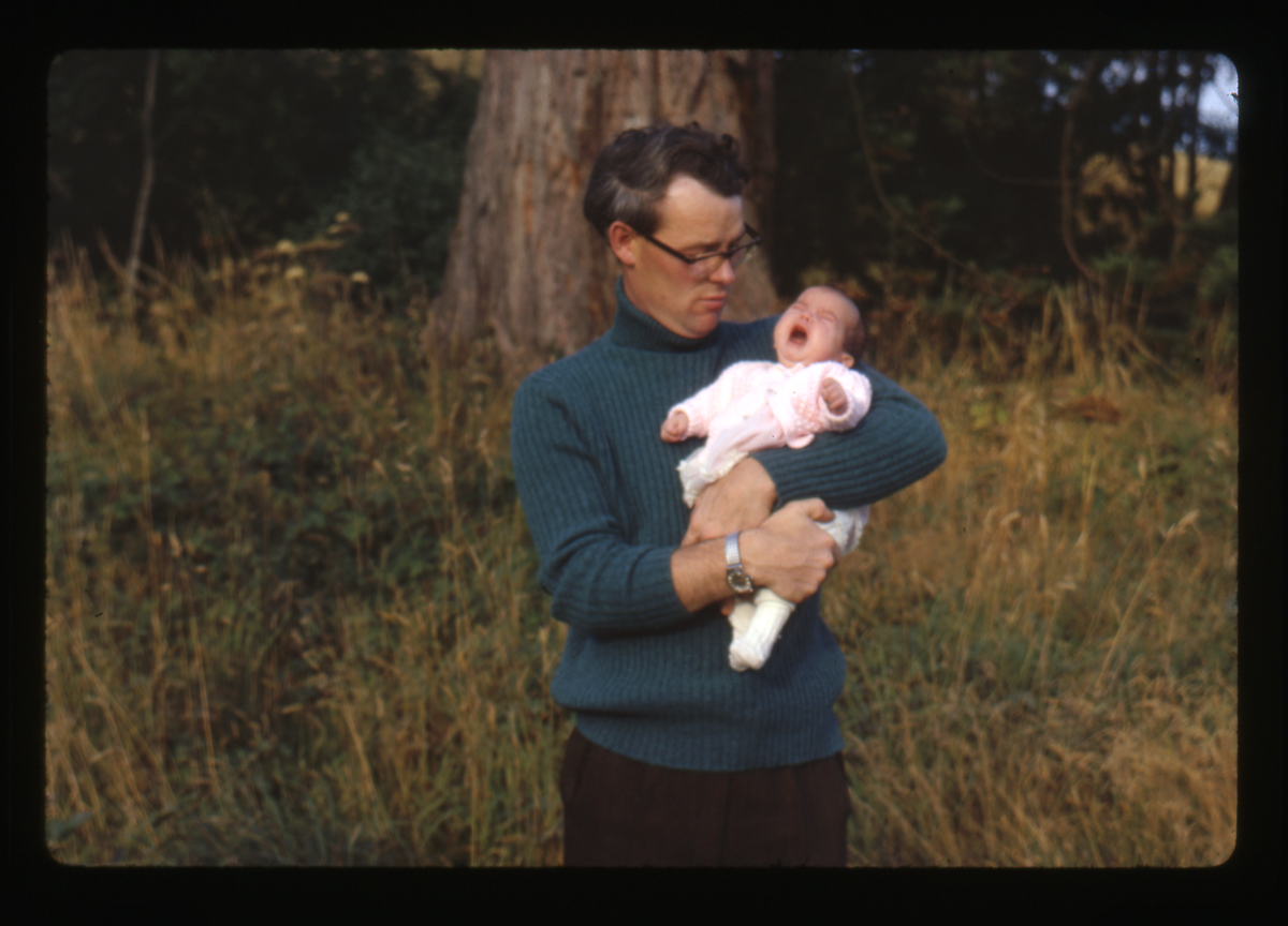 Eugene Clerkin Archive :: Eugene Clerkin with Shirley as a baby