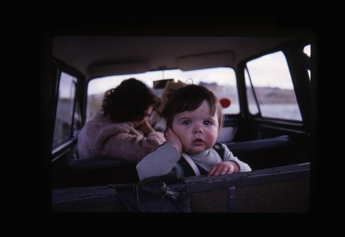 Declan Gilroy Archive // County Sligo :: Young child in car