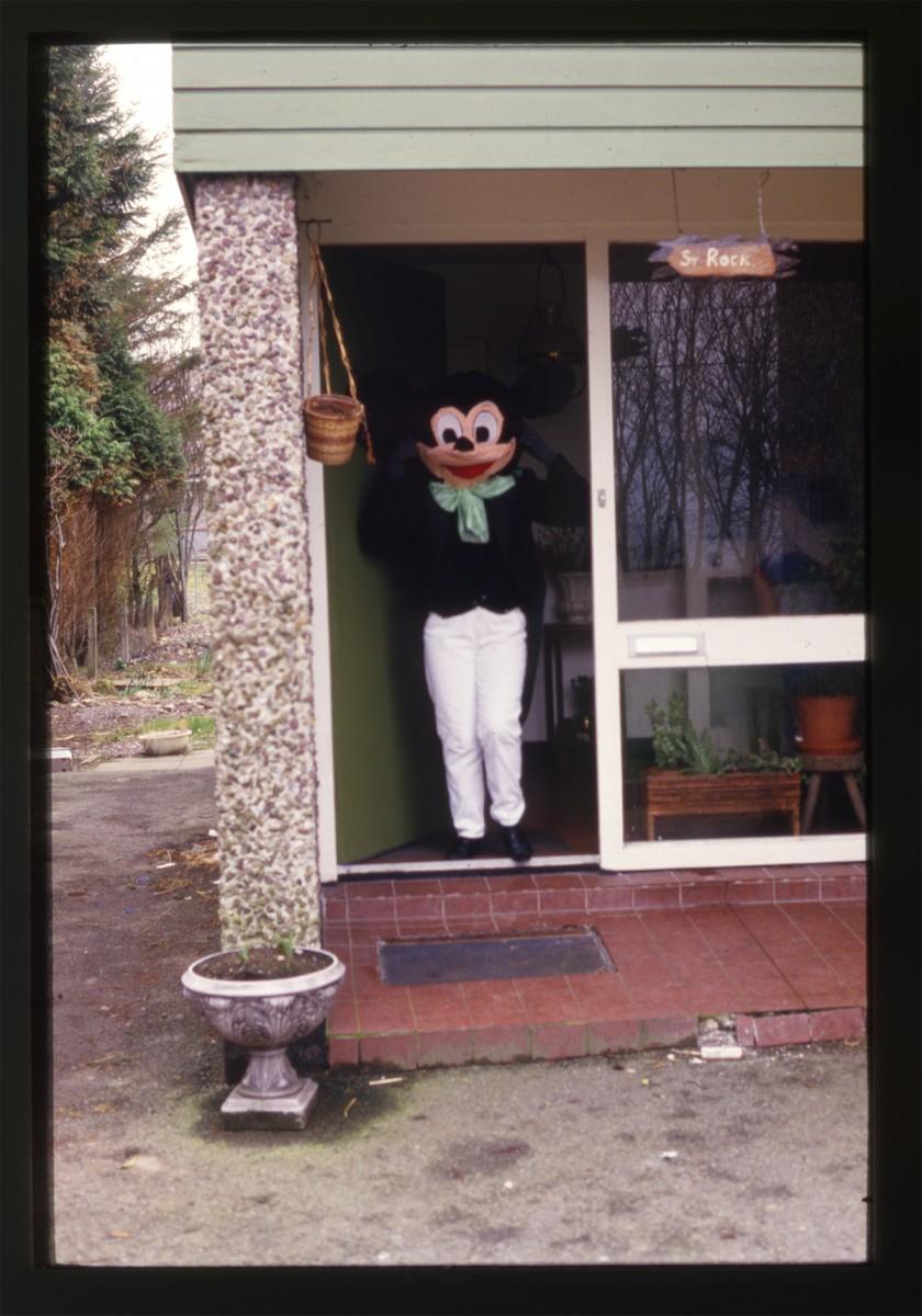 Declan Gilroy Archive // County Sligo :: Mickey Mouse costume