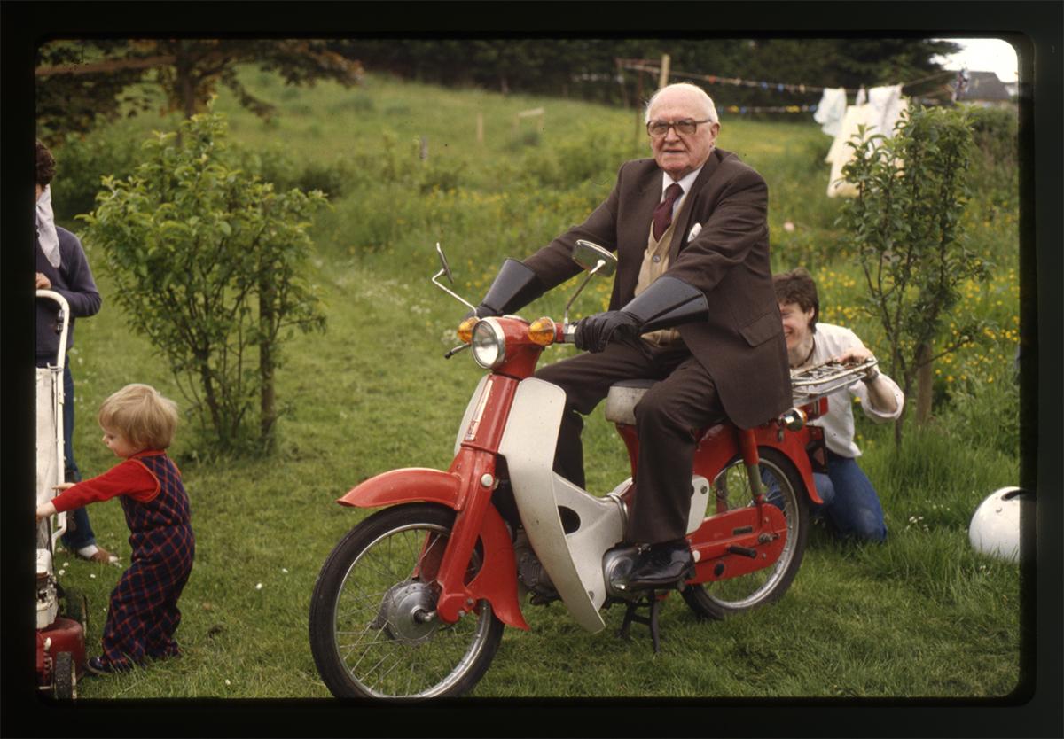Declan Gilroy Archive // County Sligo :: Man on motorbike