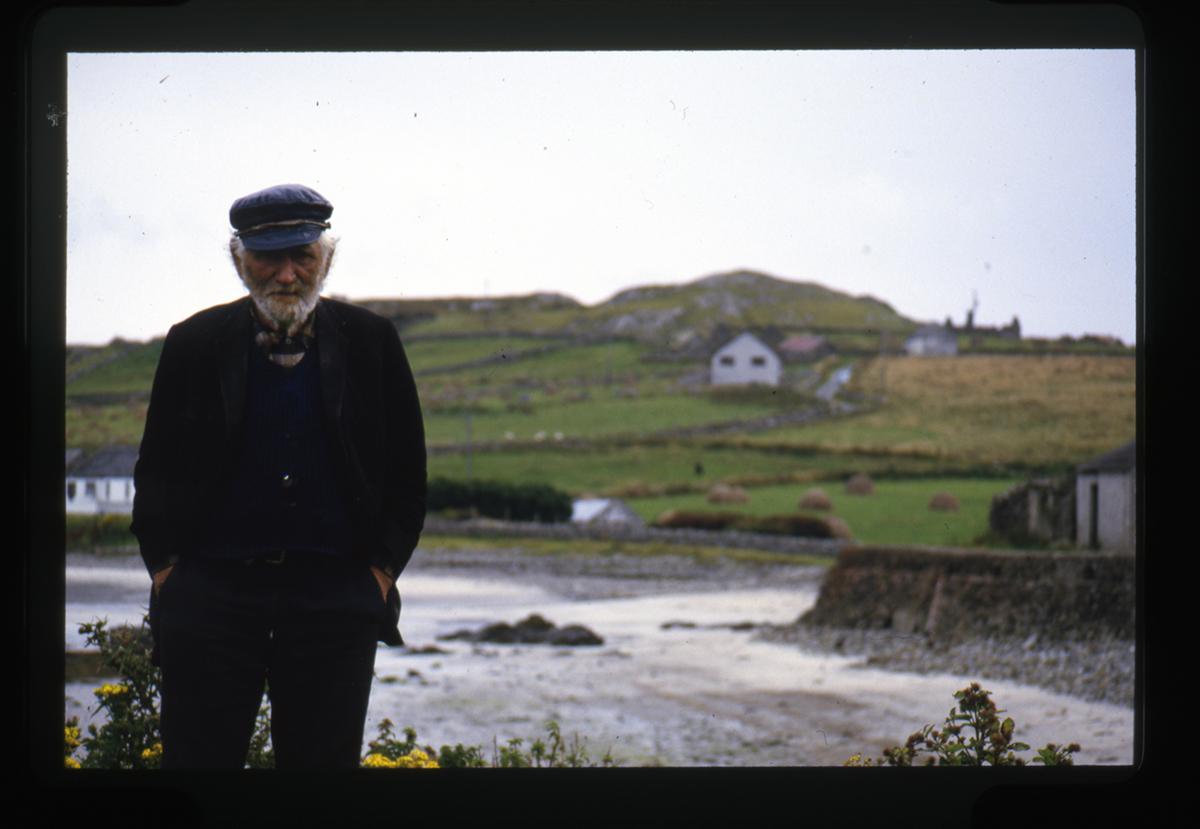 Declan Gilroy Archive // County Sligo :: Portrait of man