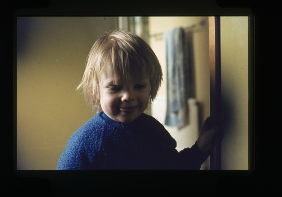 Declan Gilroy Archive // County Sligo :: Portrait of toddler