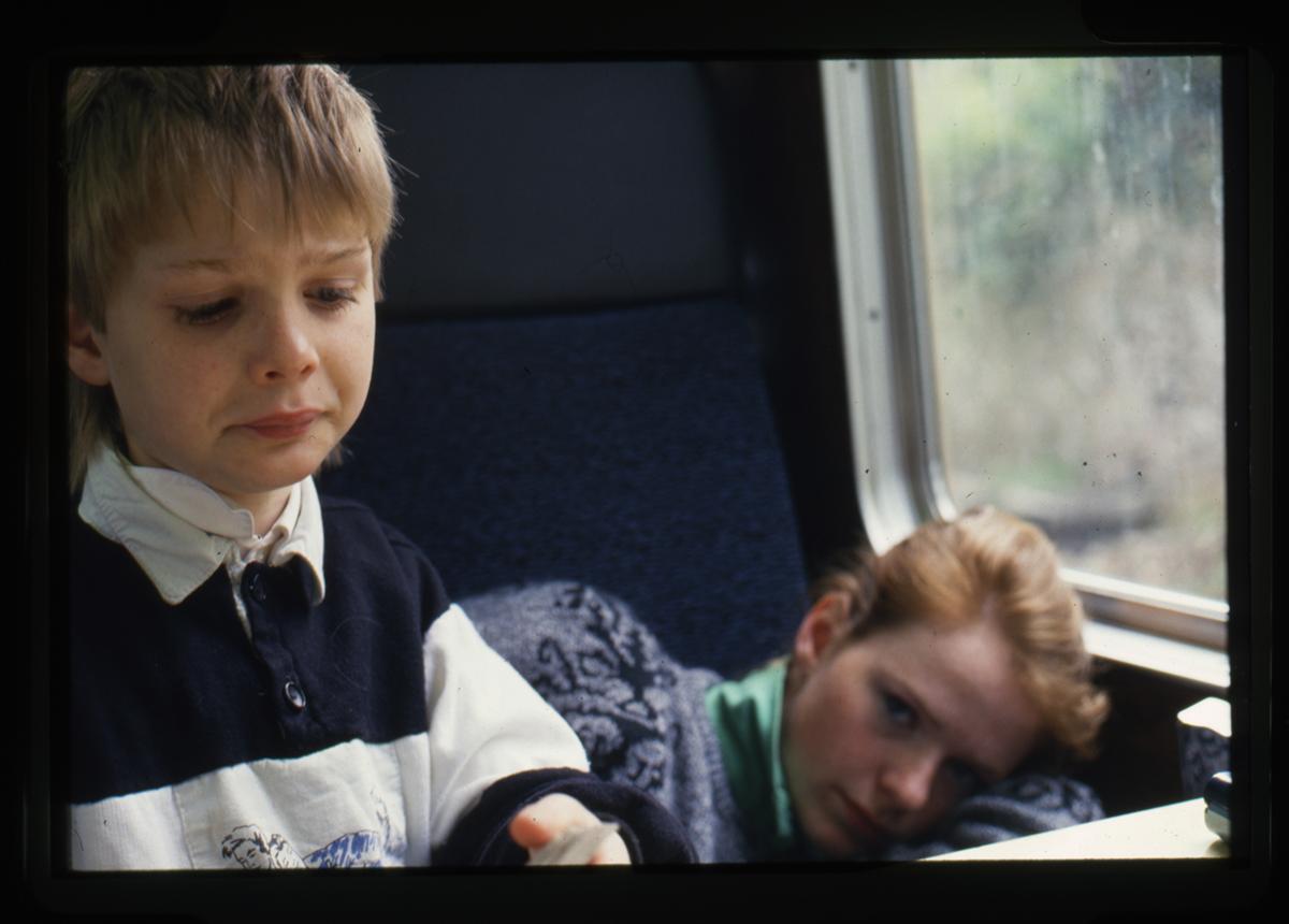 Declan Gilroy Archive // County Sligo :: On the train