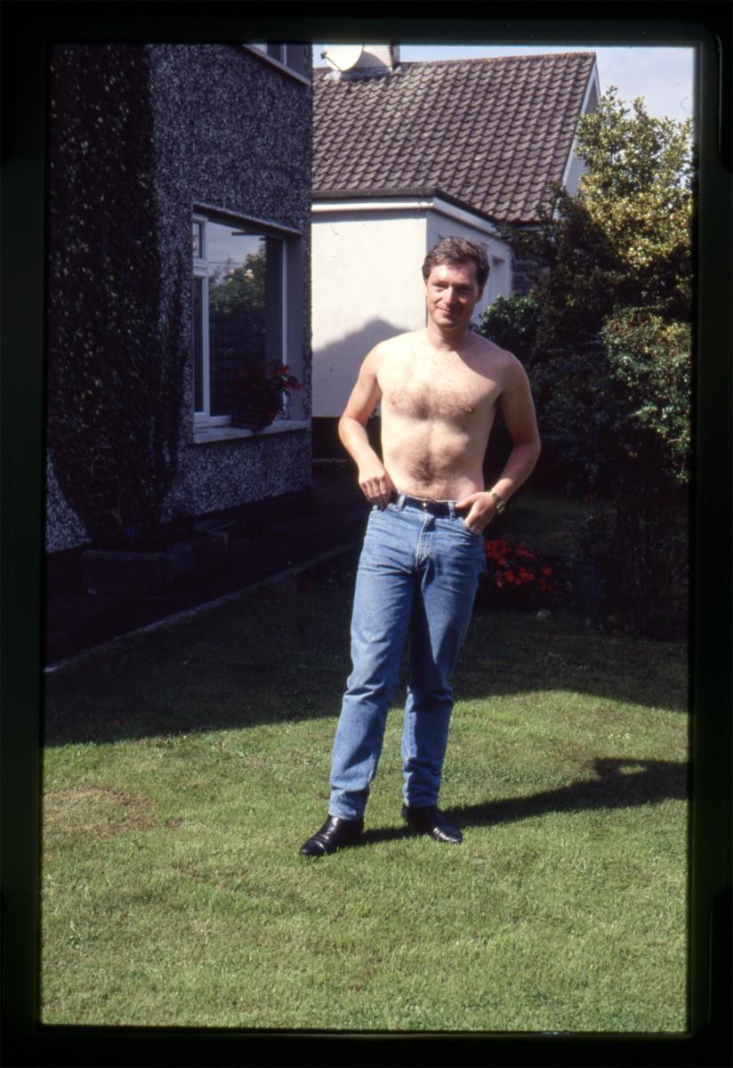 Declan Gilroy Archive // County Sligo :: Portrait in garden