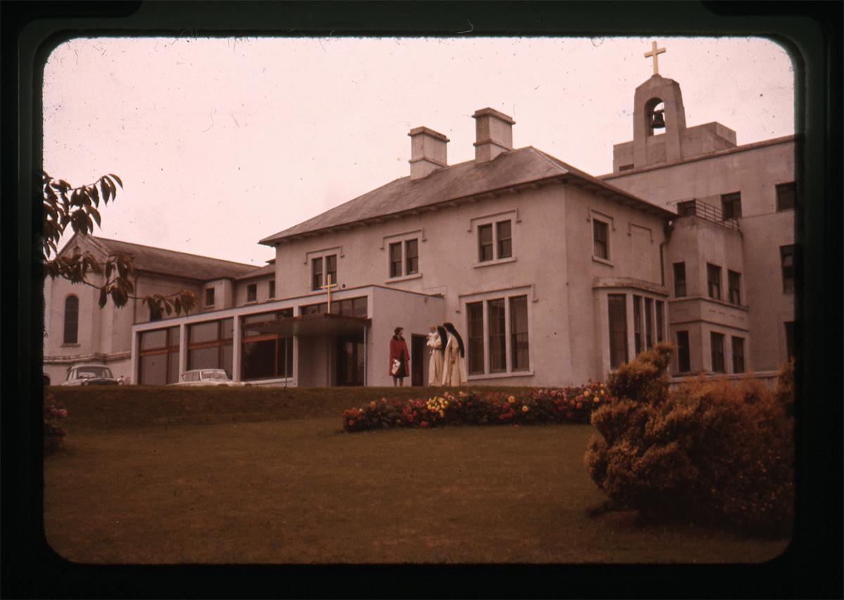 Declan Gilroy Archive // County Sligo :: Portrait outside building