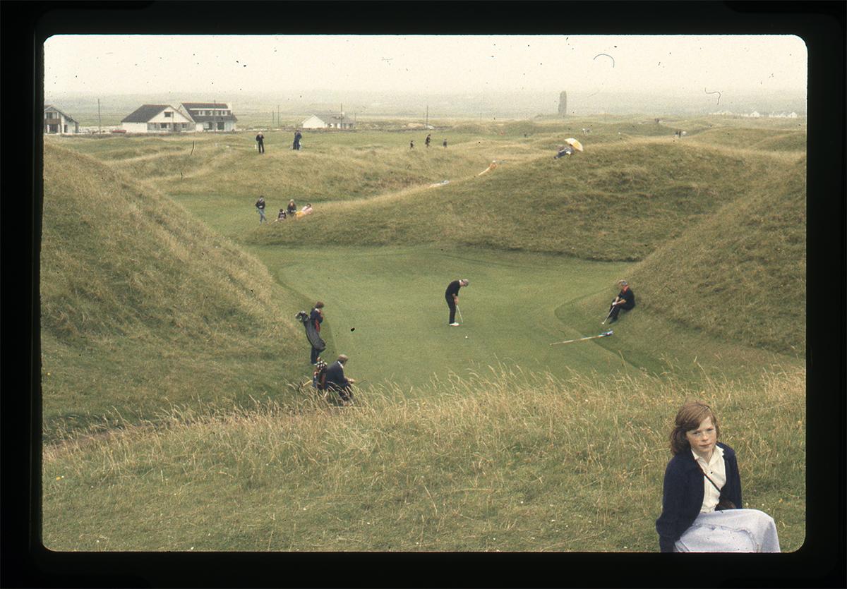 Declan Gilroy Archive // County Sligo :: Girl & golf course