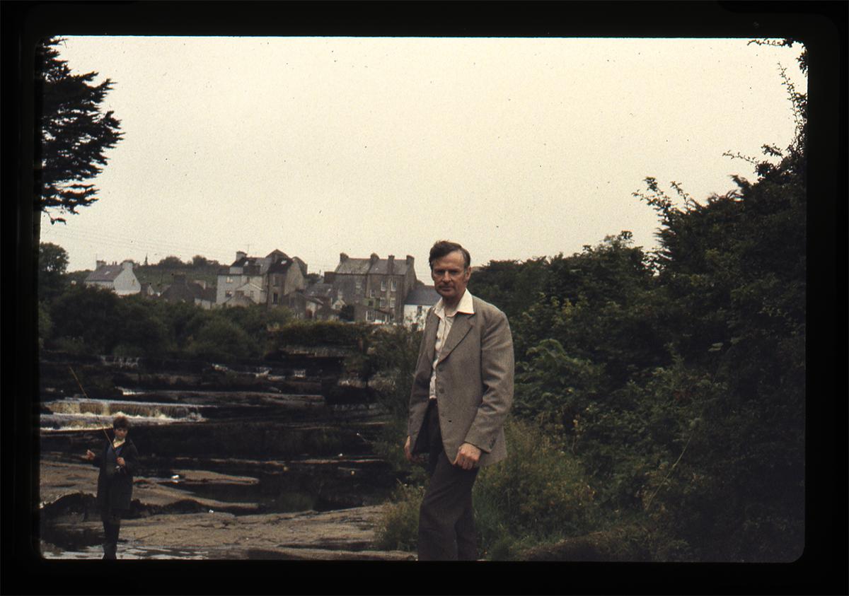 Declan Gilroy Archive // County Sligo :: Portrait at river
