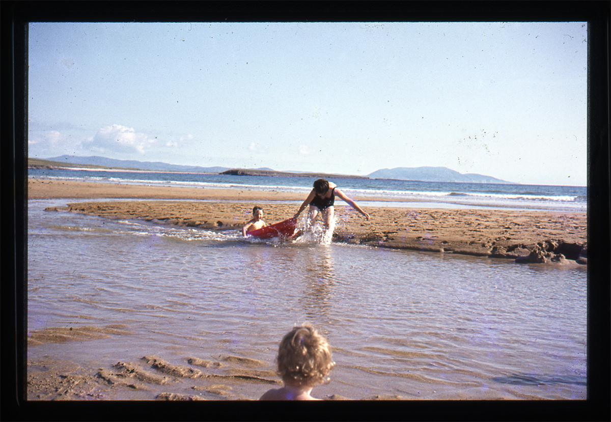 Declan Gilroy Archive // County Sligo :: Boat on beach