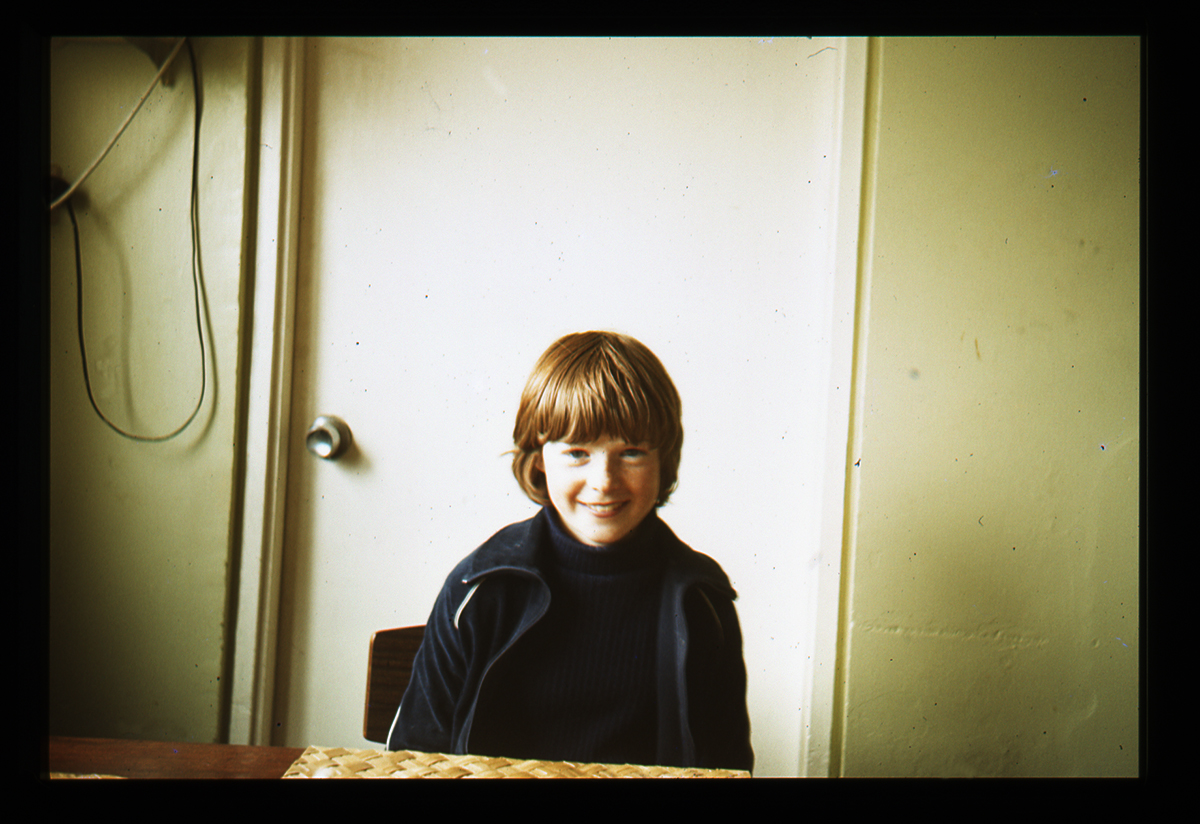 Declan Gilroy Archive // County Sligo :: Smiling child