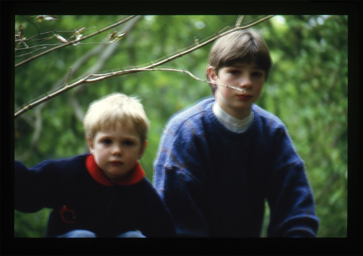 Declan Gilroy Archive // County Sligo :: Children through trees