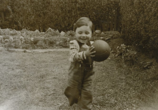 Fionnghuala Smith as a child in Birmingham