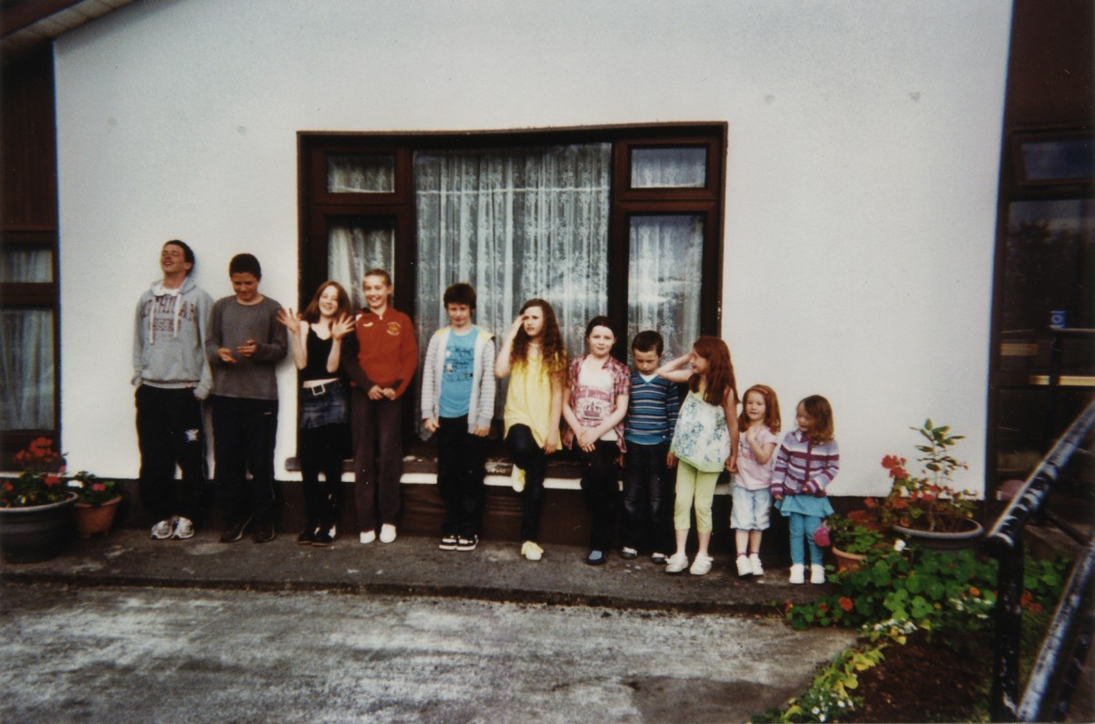 Clune // County Cork & County Galway :: Children from the Clunes family,  1990s