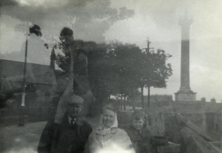 Ashbridge // County Antrim :: Double exposure print - family trip to L/Derry