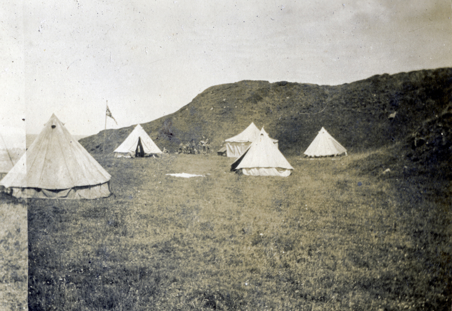 Scott // County Donegal :: Boy Scout camping site