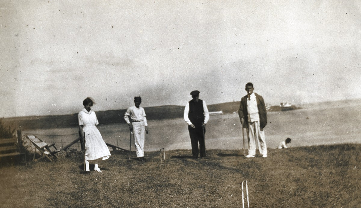 Scott // County Donegal :: Croquet near Portrush