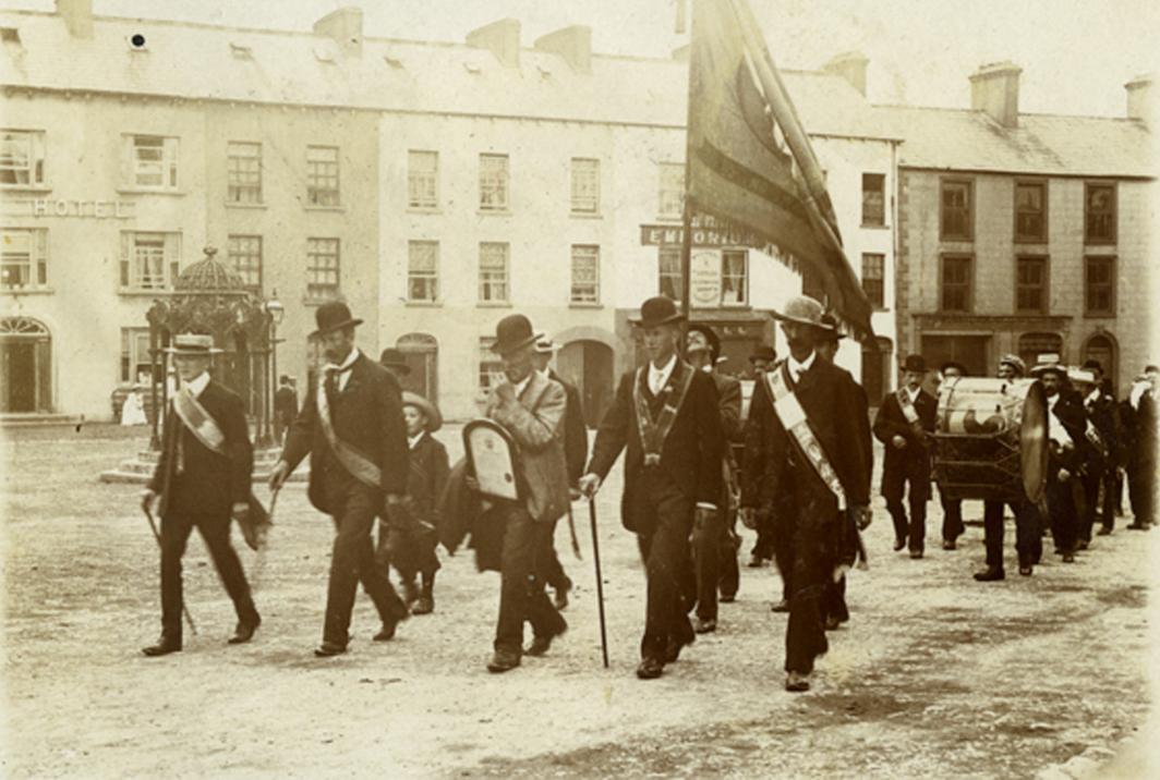 Knight // County Monaghan :: Orange Parade, The Diamond, Clones