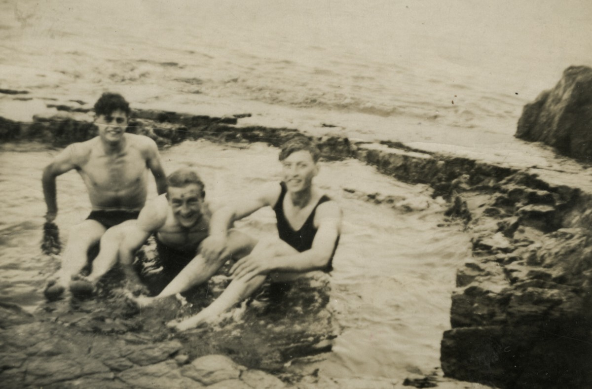 Roulston // County Donegal :: Swimming at Portrush 1950's