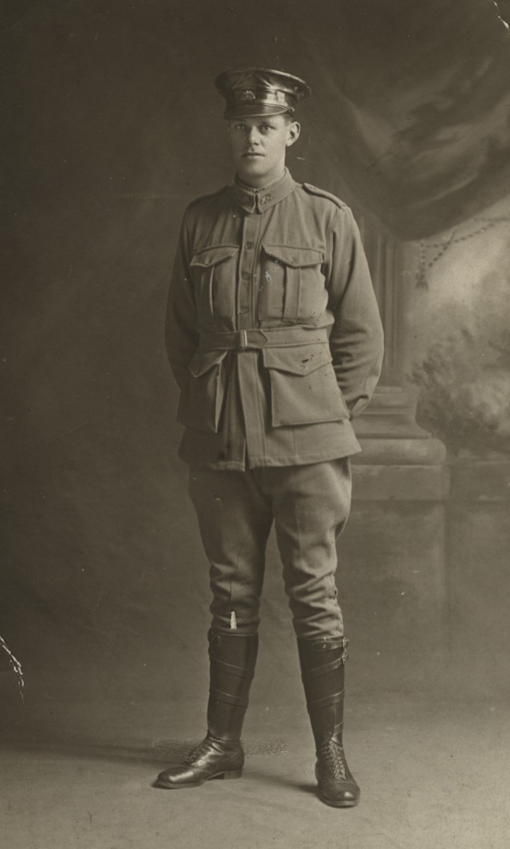 Roulston // County Donegal :: Jack Dunlop, driver in the First World War
