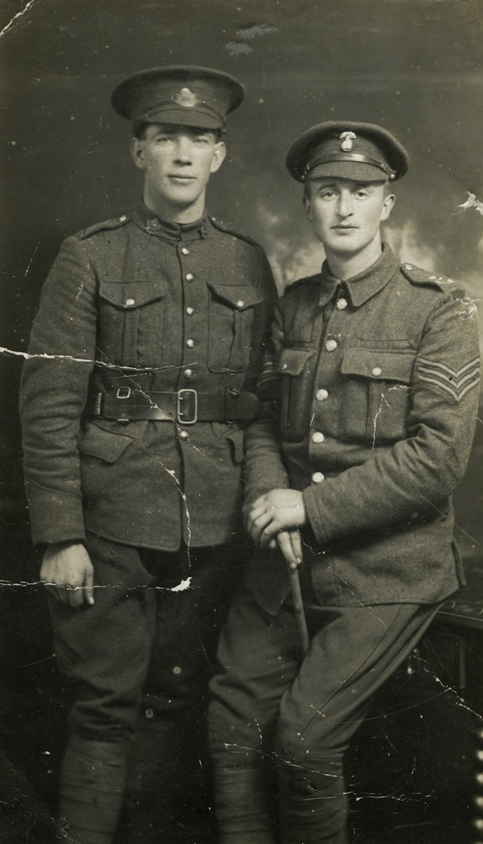 Roulston // County Donegal :: James Hunter and Robert Roulston, World War 1