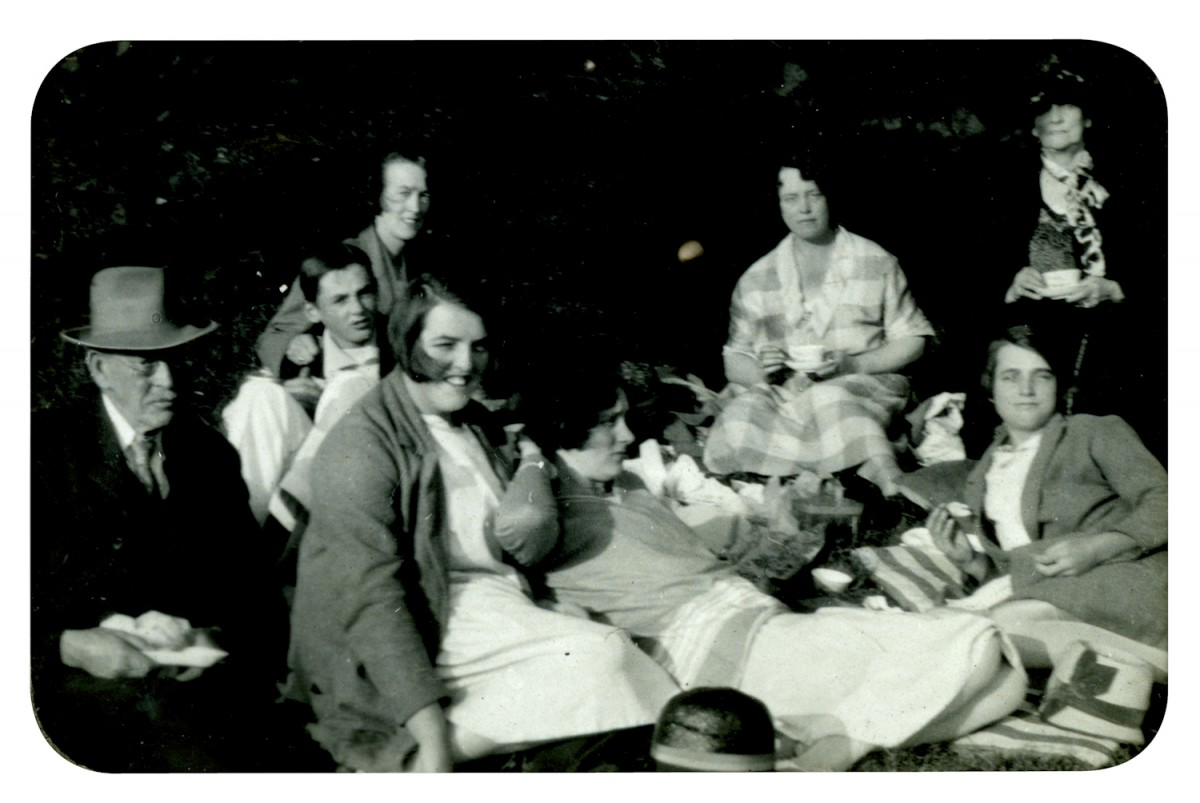 Knight // County Monaghan :: Knight and Addison familes picnicking