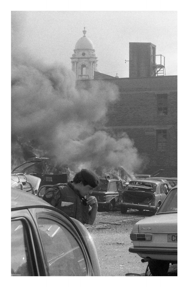 Peter McKee Archive // County Down, Antrim, Tyrone & L/Derry :: Bomb in Castle Street area, Belfast