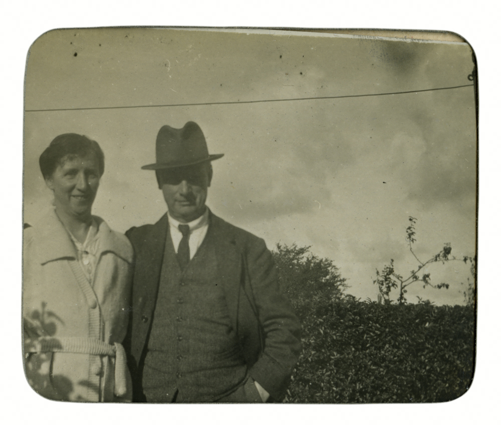 Knight // County Monaghan :: Mary Clemina Knight and an unknown gentleman