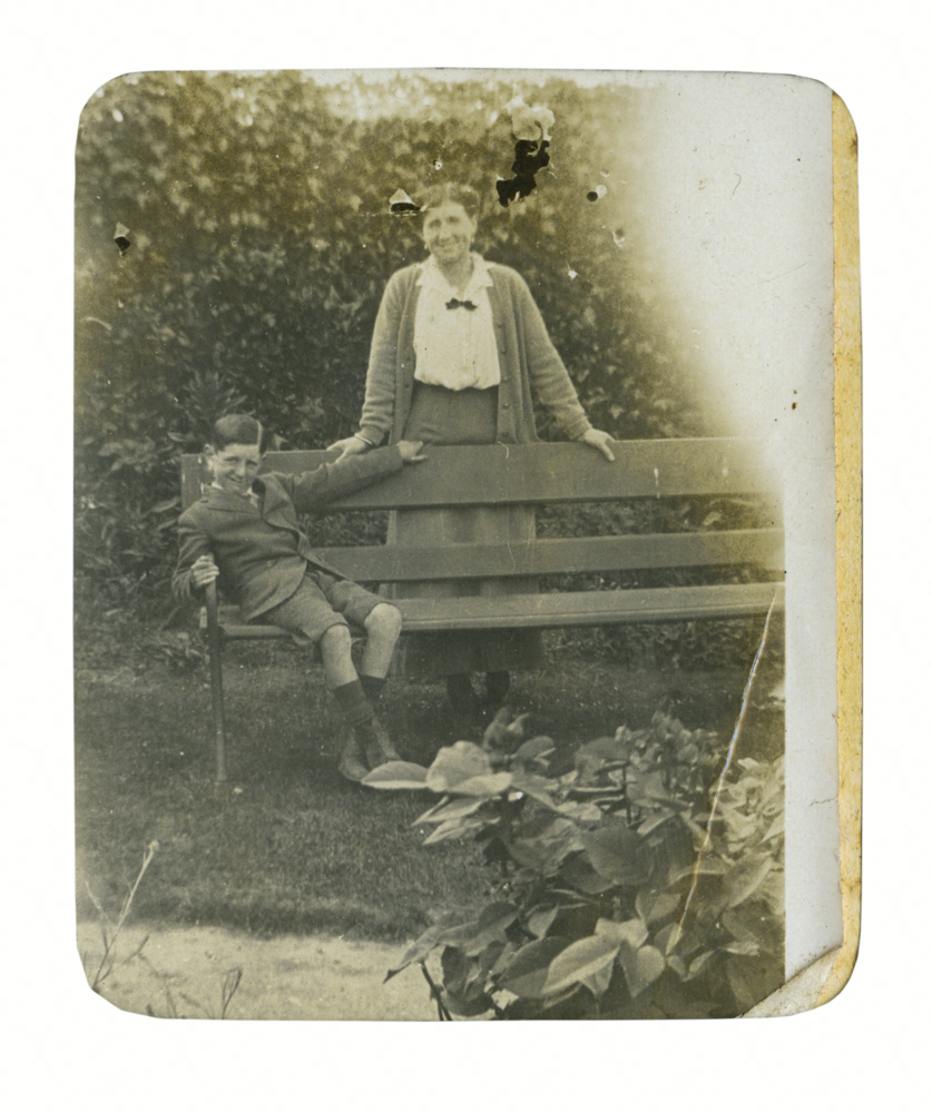 Knight // County Monaghan :: Mary Knight and her son B.E. Knight