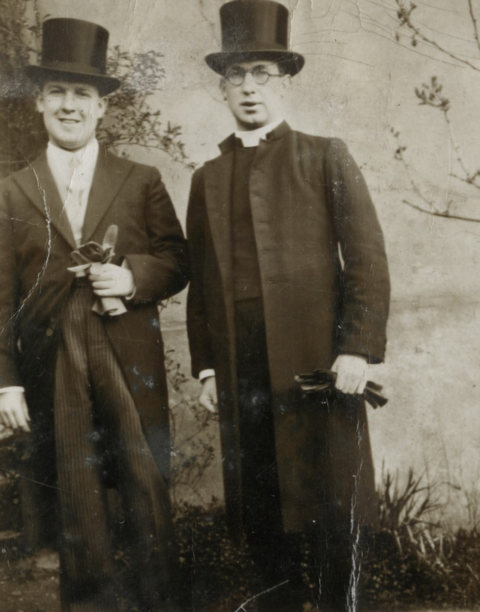 Roulston // County Donegal :: Portrait of 2 men