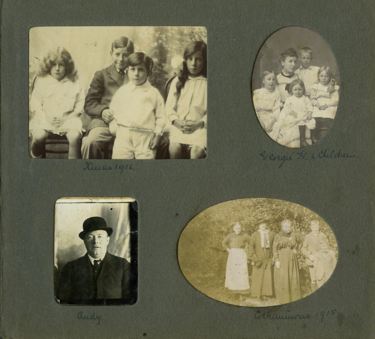 Knight // County Monaghan :: Album page  from the Knight family collection