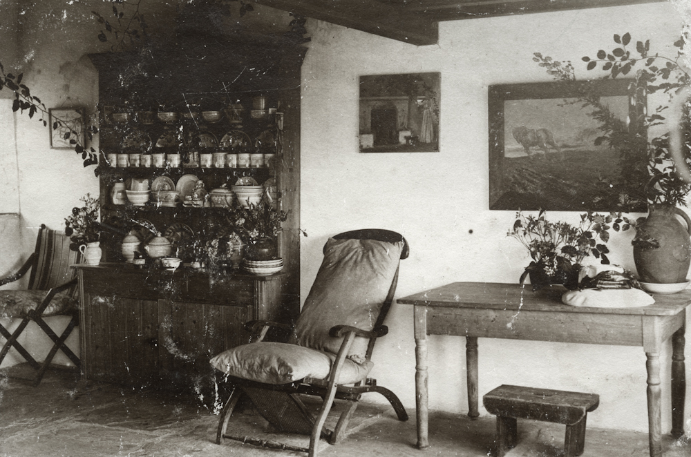 Law // County Donegal :: Interior of 'The Fairy Cottage', Marble Hill Woods.