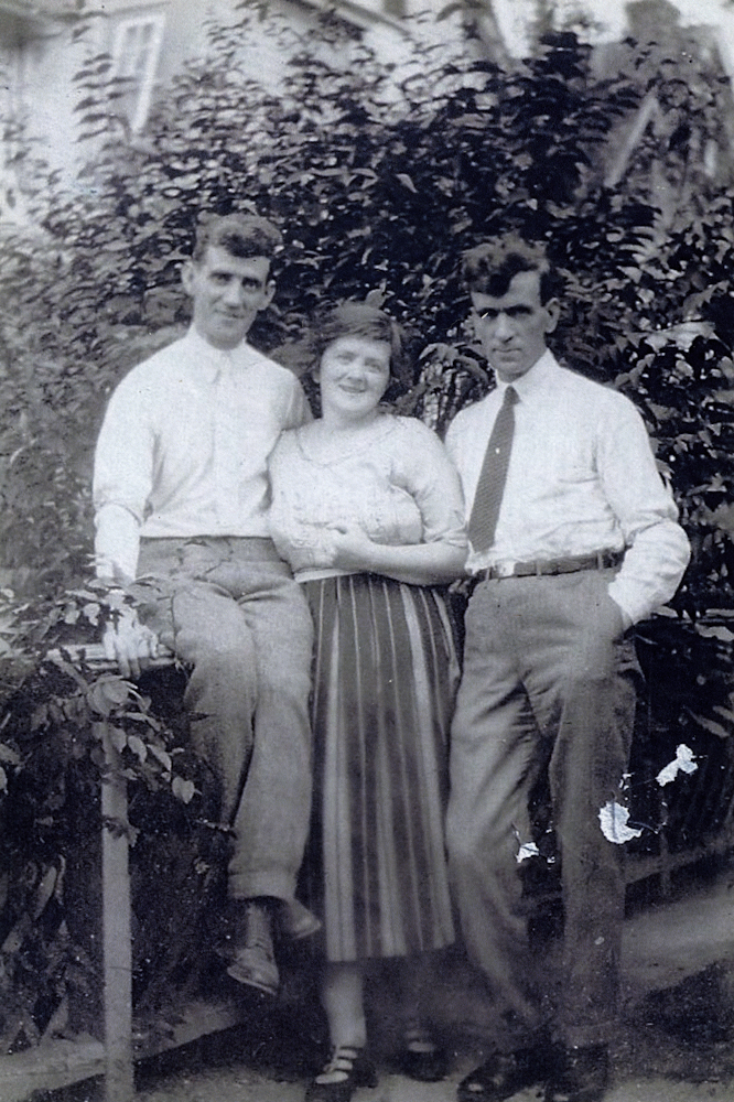 Carney // County Down :: Louis Carney, his wife Mary Ellen and Ernest Carney