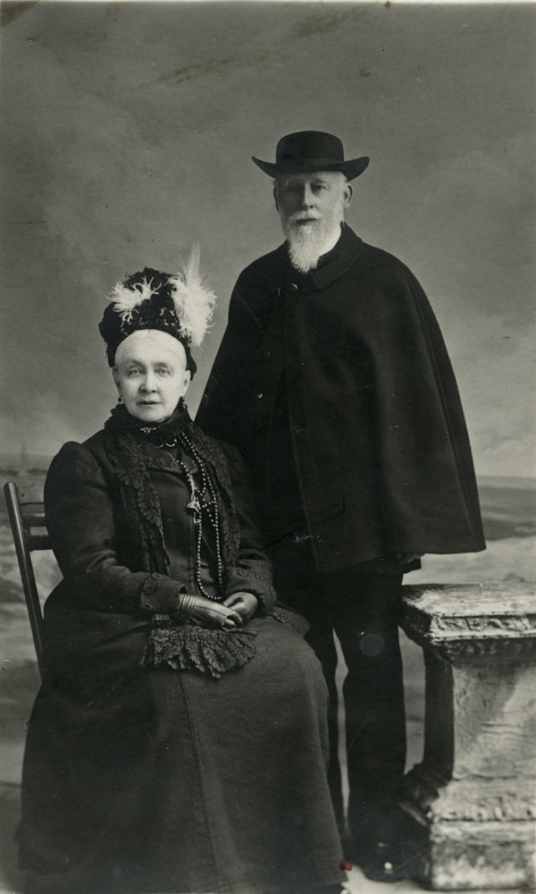 Law // County Donegal :: Rev. A.G. Stuart and Charlotte Stuart.