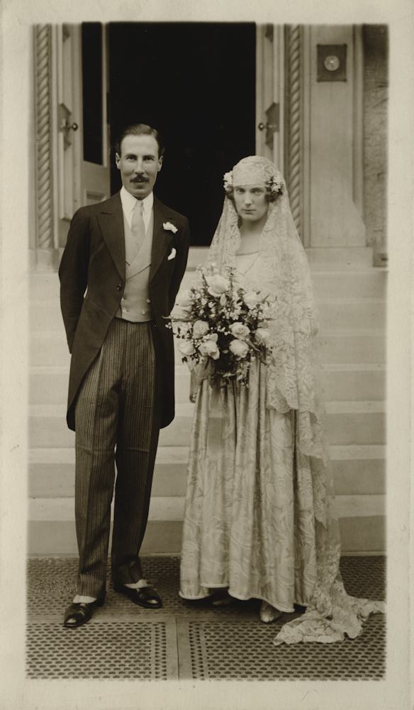 Law // County Donegal :: Francis Law and Rosemary Clerk wedding, North Berwick, Scotland, 1928.